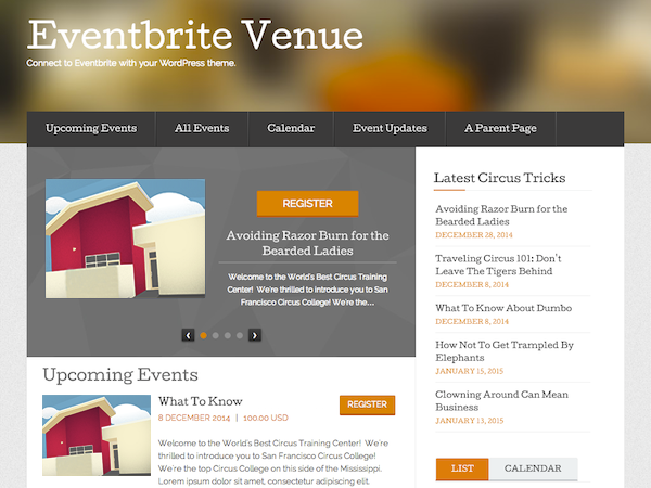 Bringing Eventbrite to WordPress.org